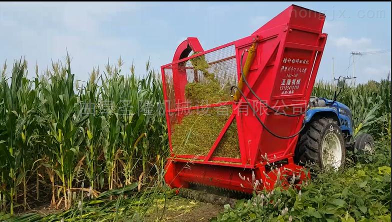 青饲料收获机 苞米秸秆收集机价格