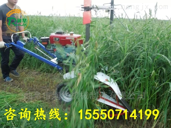 陕西小型谷物收割机 低价销售牧草割晒机