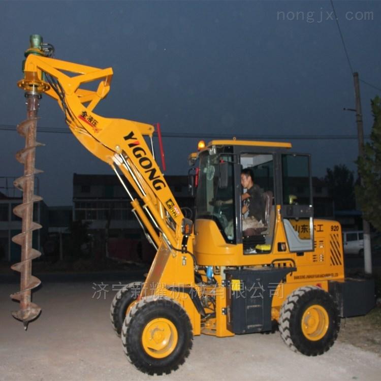 电力电线杆植树挖坑机 光伏打桩