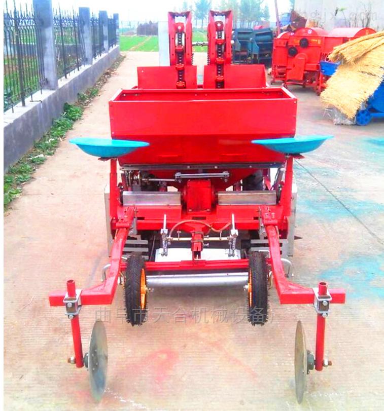 手扶微耕机带土豆播种机 农用多功能