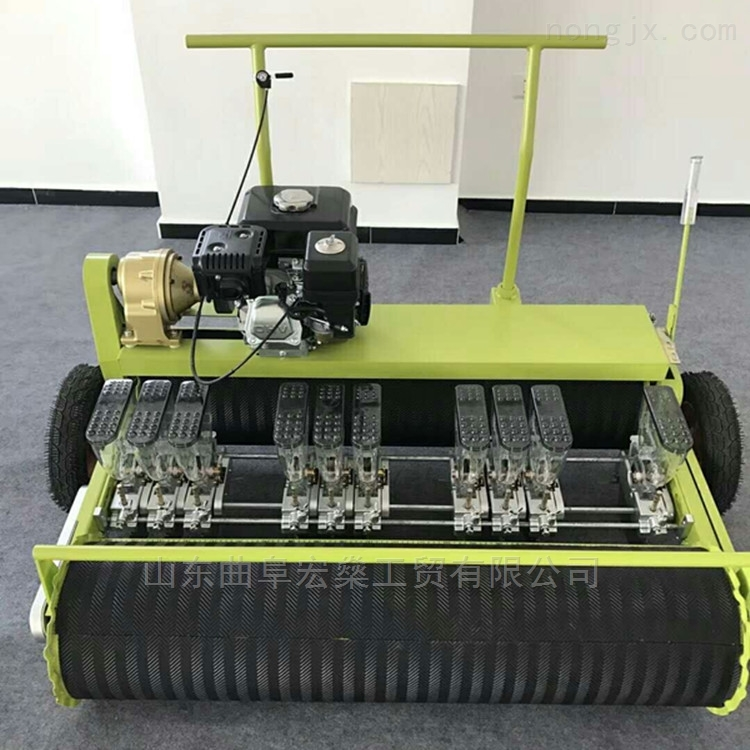 HS-拖拉机带气吸式蔬菜精量播种机