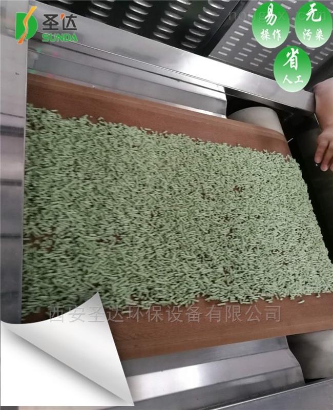 隧道式貓砂微波干燥設備大型干燥機