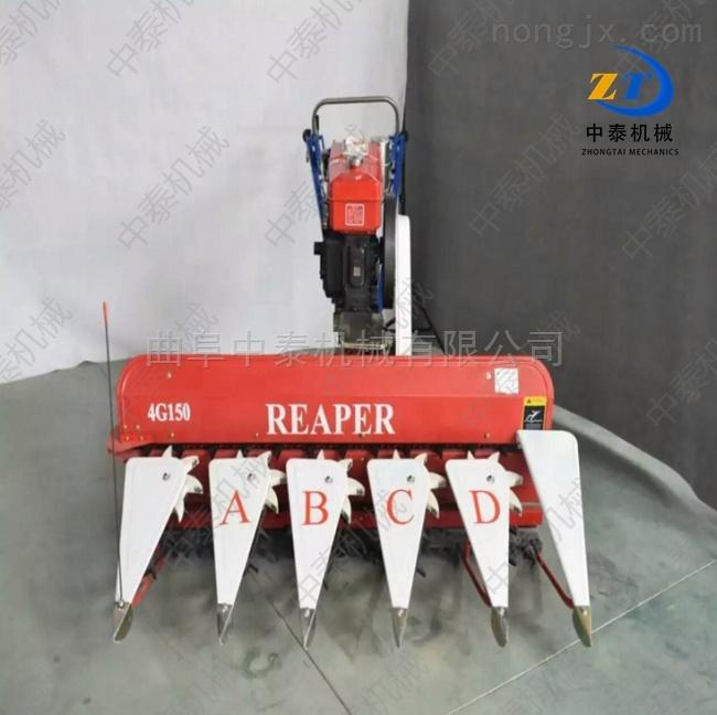 大慶谷物收割機 小型麥子割曬機廠家