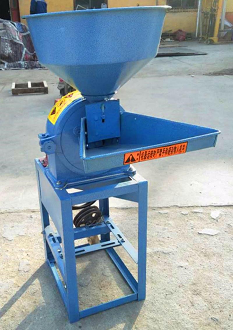 小型面粉制作机 五谷杂粮电动磨面机