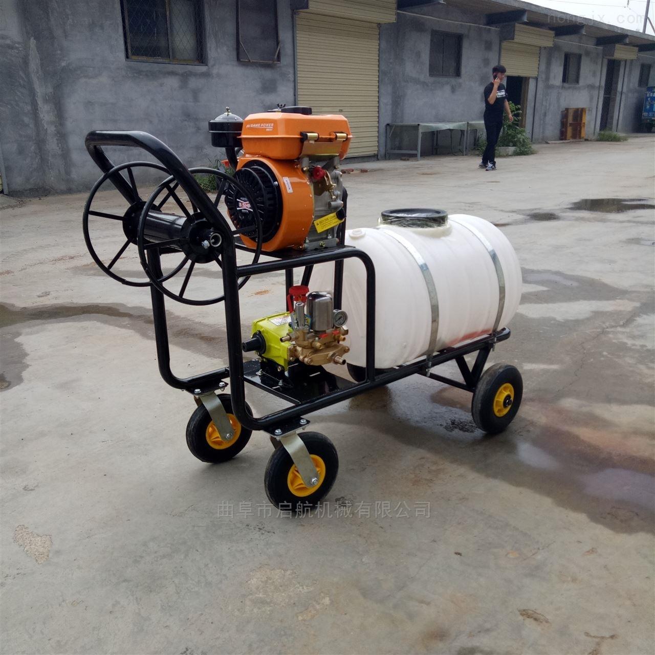 蔬菜園噴霧器 三輪柴油打藥機 電啟動打藥車