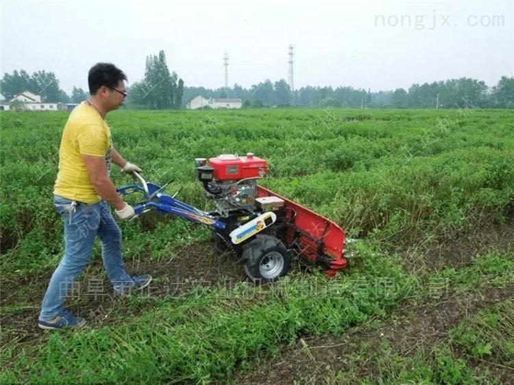 坡地秸秆割晒油菜割晒机