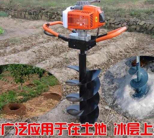 手提式植树打坑机 四冲程大马力挖坑机