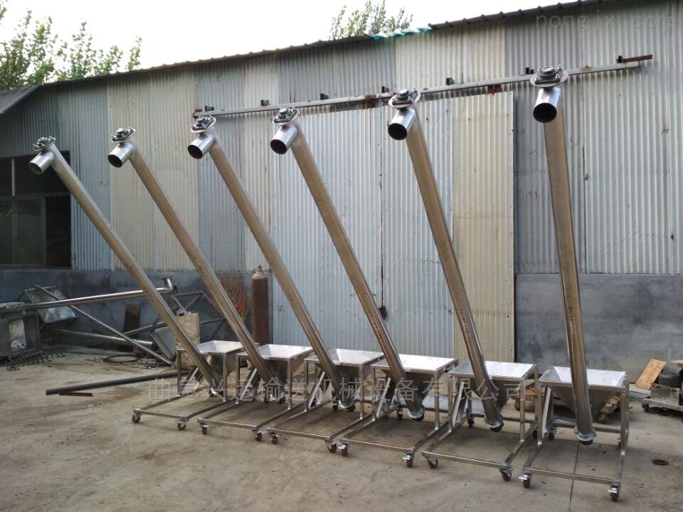 活性炭管式提升机 防腐蚀不锈钢管加料机