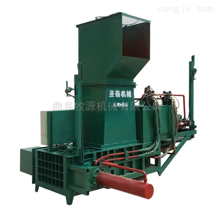 青贮秸秆压块机图片   玉米秸秆青贮压块机厂家
