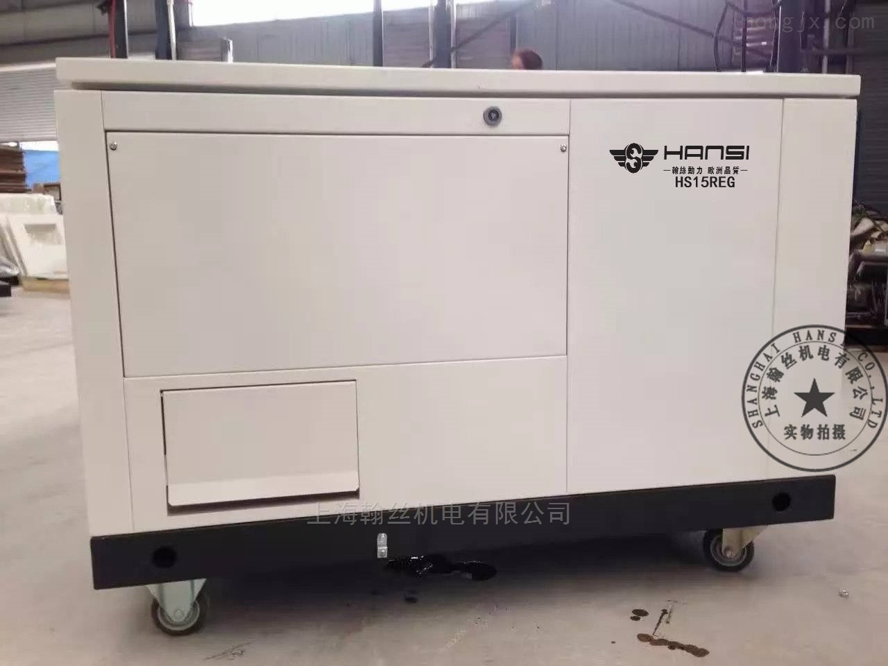 380V15千瓦汽油发电机