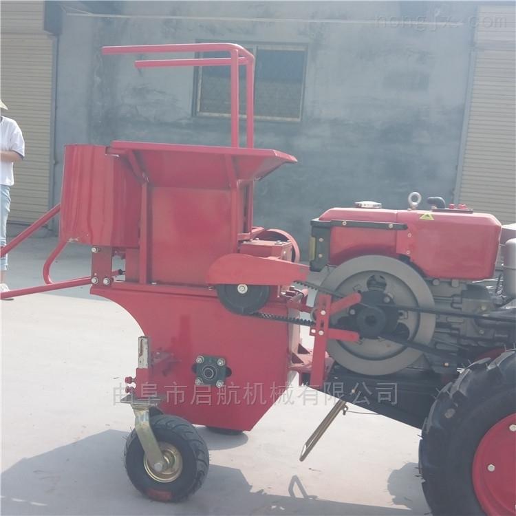 手扶玉米收获机 单行玉米联合收割机