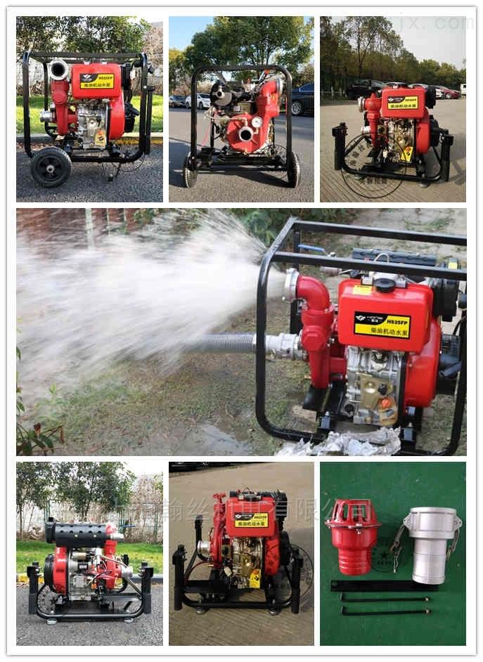 HANSI翰絲HS25FP-不加引水65管柴油機水泵