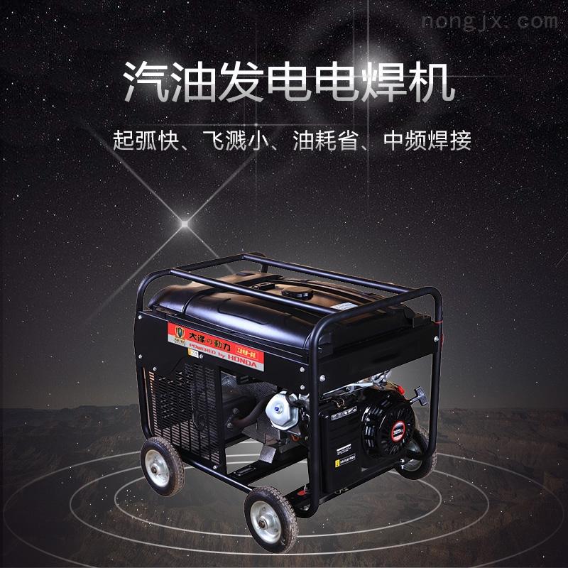 单缸永磁300A汽油饭店电焊两用机