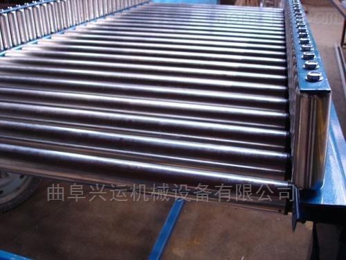 伸缩辊筒输送机专业生产 倾斜输送滚筒