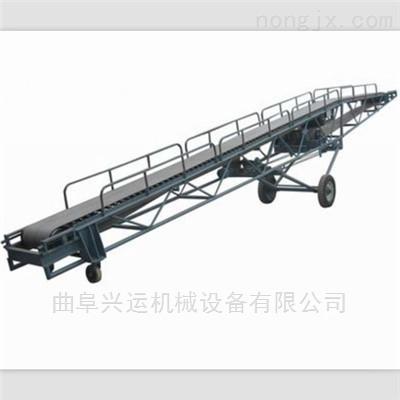 袋装化肥装卸卡车用输送机 输送机安装使用y2