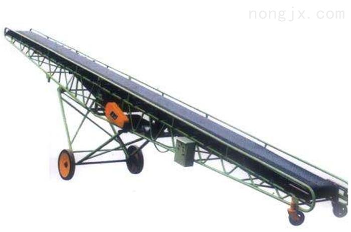 爬坡式液压升降装车皮带机,袋装水泥输送机