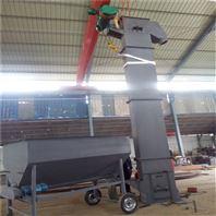 201不锈钢复合肥提升机 垂直瓦斗式上料机