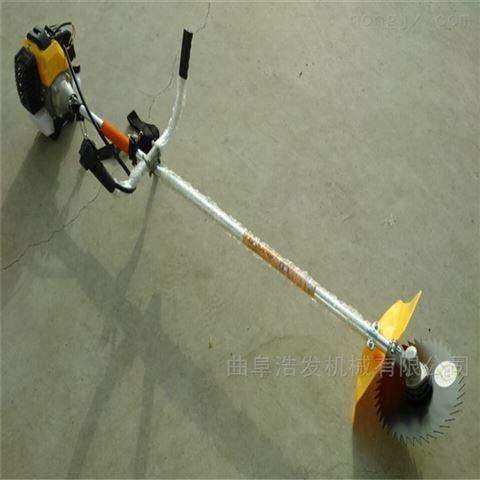 园林机械手推剪草机 侧挂式多用割草机厂家