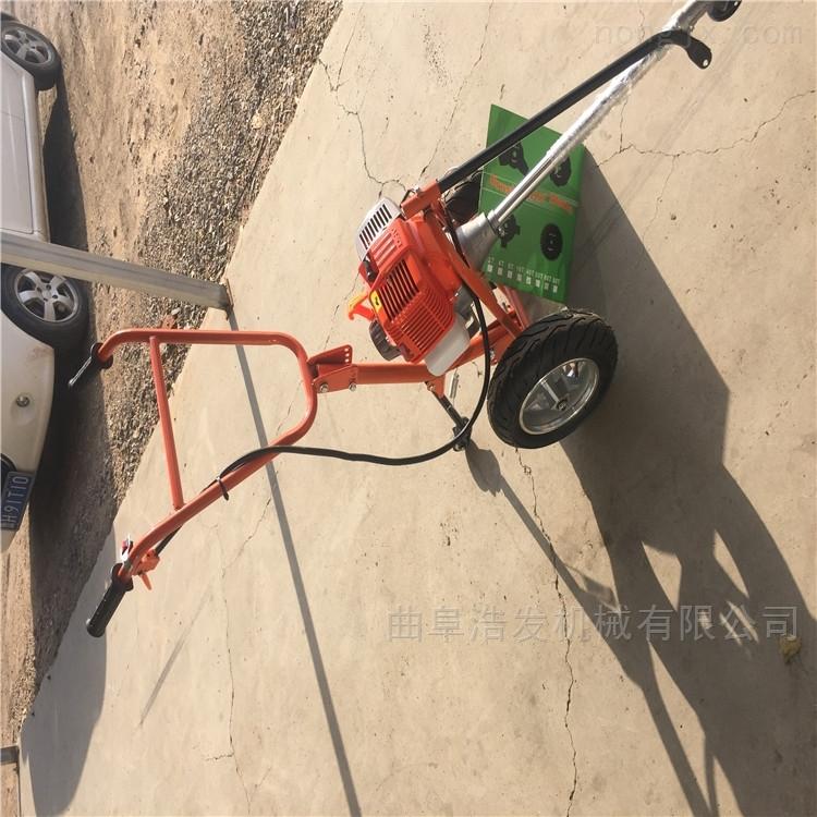 四冲程侧挂式割草机型号 多用途除草机图片