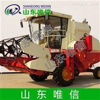 设备自走轮式油菜籽收获机机械