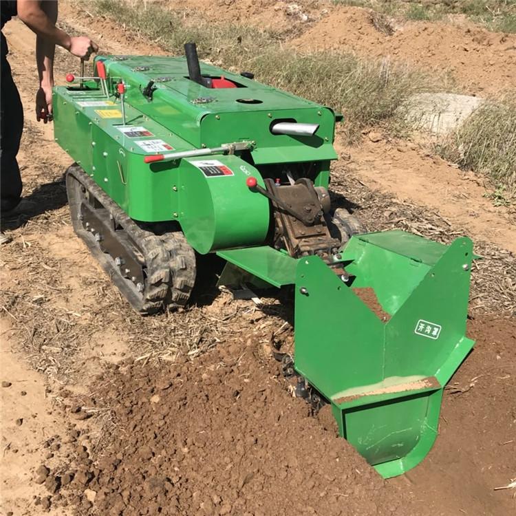 施肥开沟机厂家直销自走式果园开沟施肥机