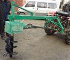 珠海公园种树打坑机 田间埋桩汽油钻坑机