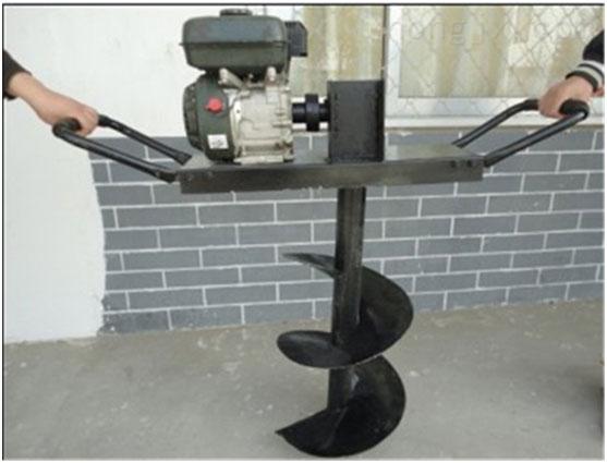 汽油动力支架式挖坑机打坑机价格 动力强劲