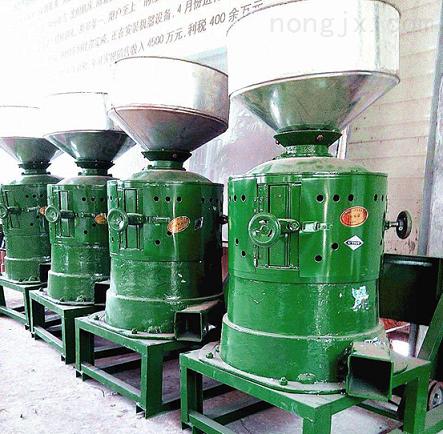 四平农村小型加工设备 农村黄谷子脱皮碾米