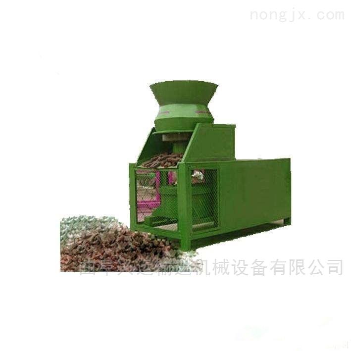 秸秆压块机成型机锥形压轮技术 操作简单