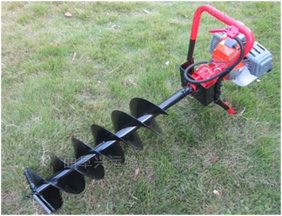 多功能立式挖坑機汽油機地鑽 操作簡單