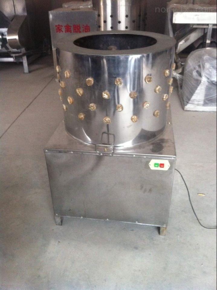 厂家直销圆筒不锈钢家禽自动打毛机