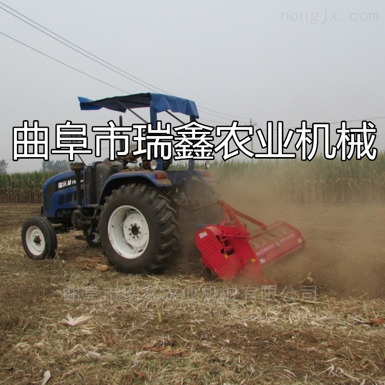 农用玉米粉碎还田机 青贮牧草切碎打田机