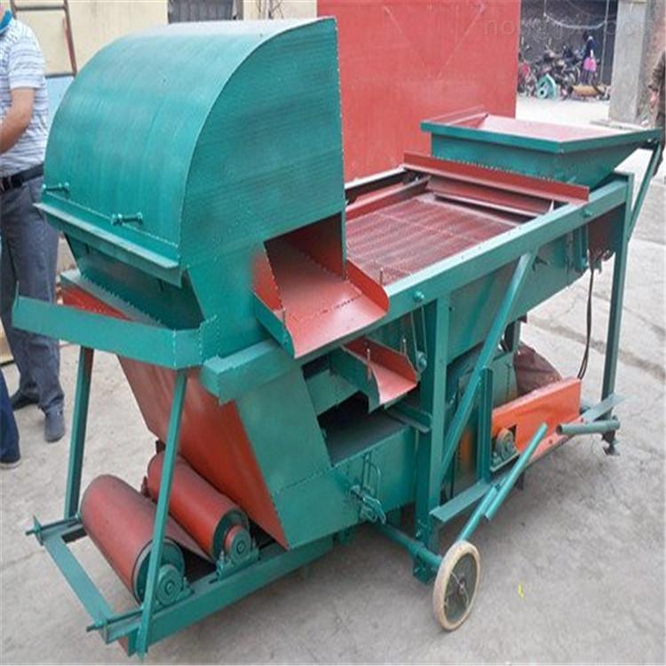 蚕豆清选机-绿豆精选过筛机-红小豆抛筛机