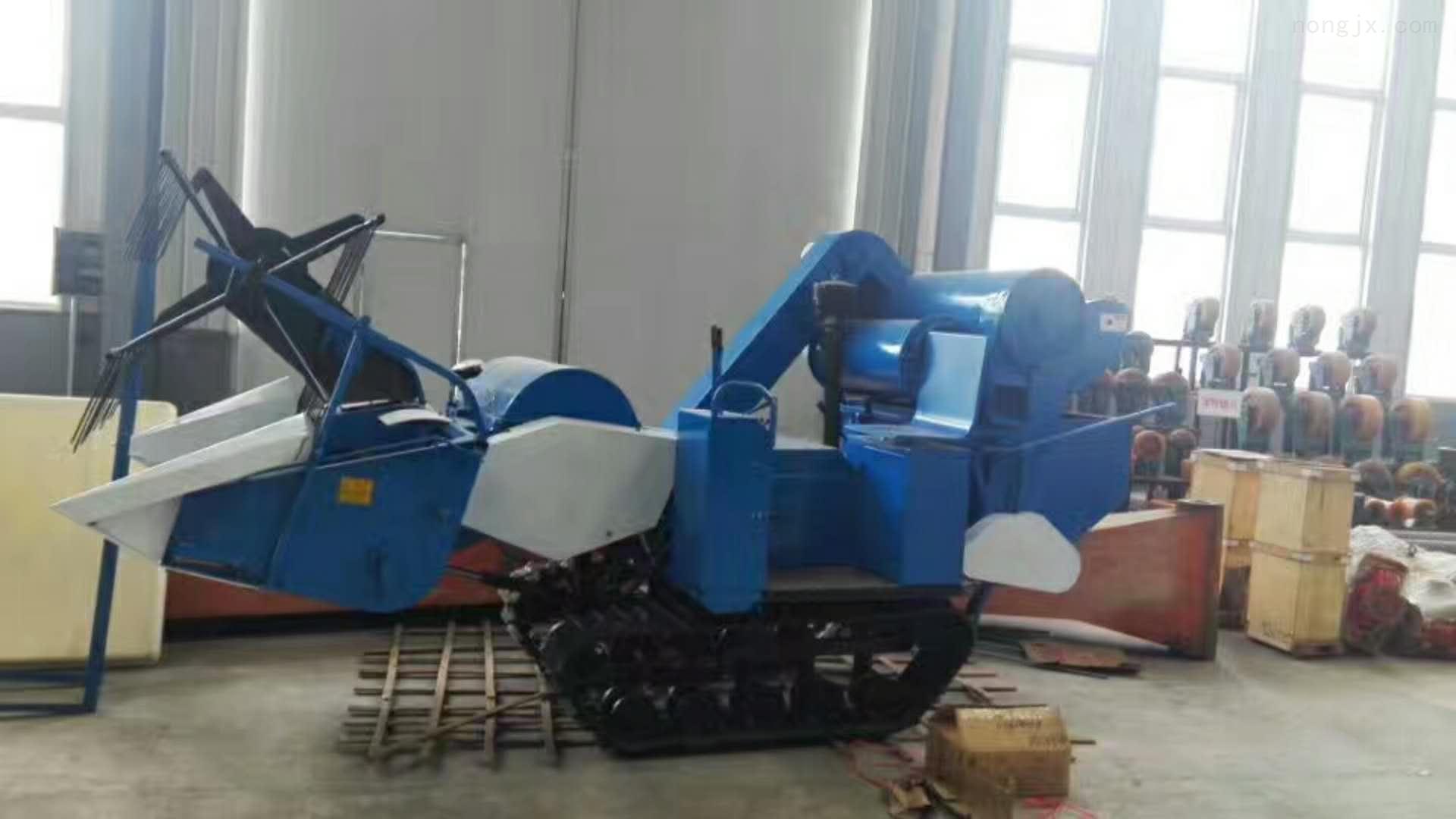 小型履带式稻麦联合收割机 原厂直销 价格低