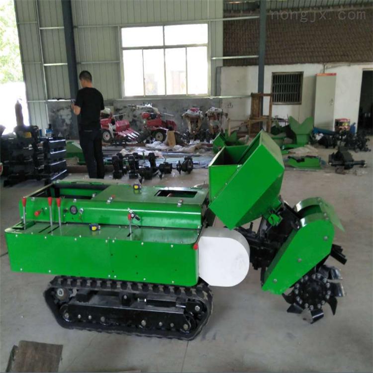 多功能柴油微耕機果園管理機履帶式田園機