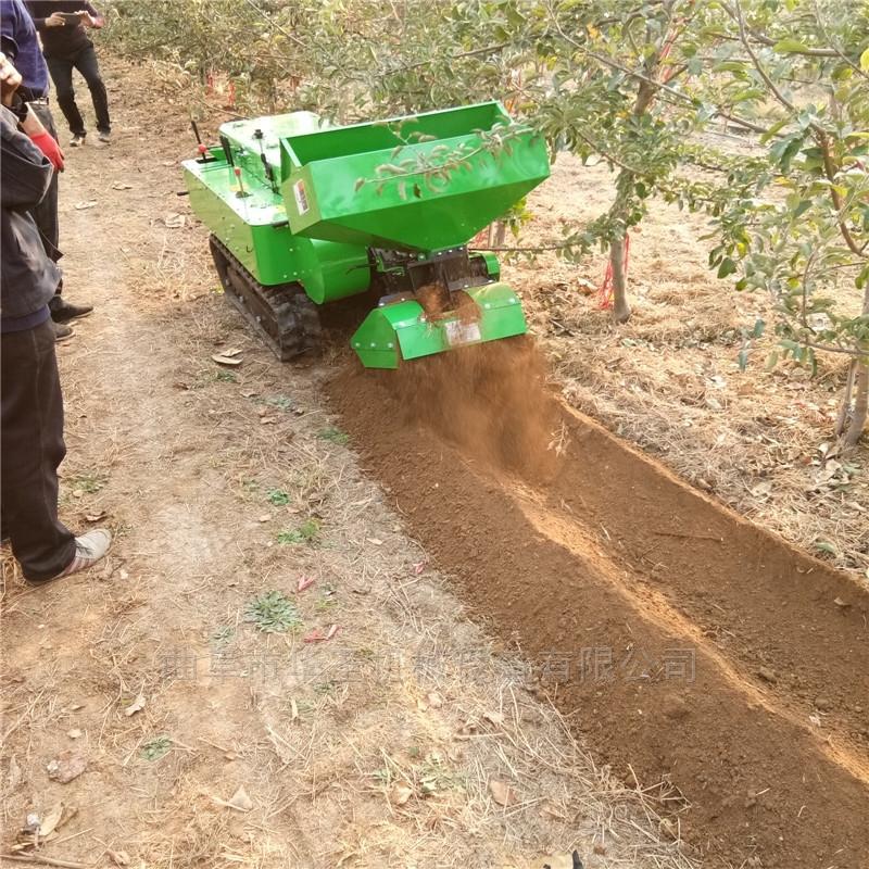 农用自走式操作省力施肥机