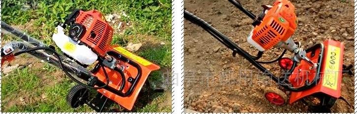 菜园四驱微耕机土壤耕整机械 操作简单