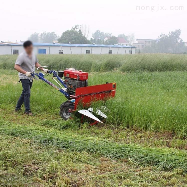 手扶式水稻收割机 自走式割晒机割台