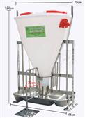 干湿喂料器自由采食槽猪料槽