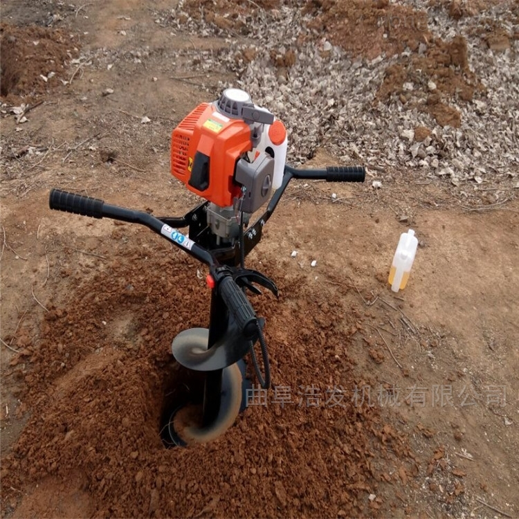 樹木種植農用硬土地挖坑機 大型液壓地鉆機