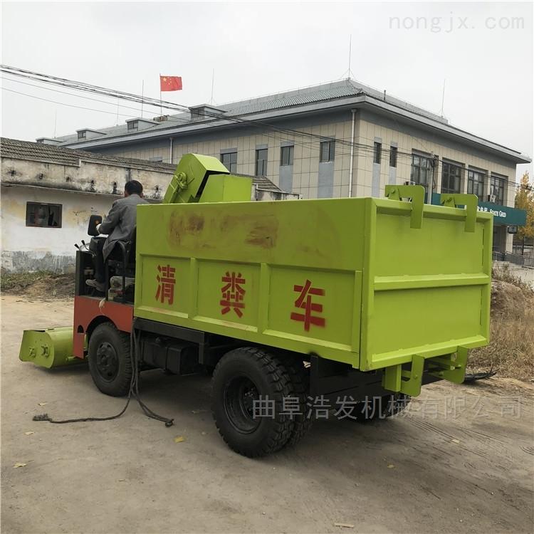 牛粪自装卸清理运输车 养殖棚用清粪车规格