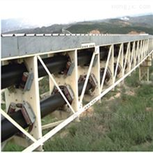管帶輸送機管狀皮帶機 降低設備成本加工定制