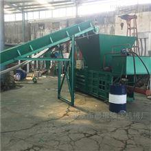 液壓打包機稻草打包機生產效率高 布匹打包xy1