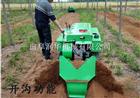 速度可调的柴油施肥机 果树土杂肥开沟机