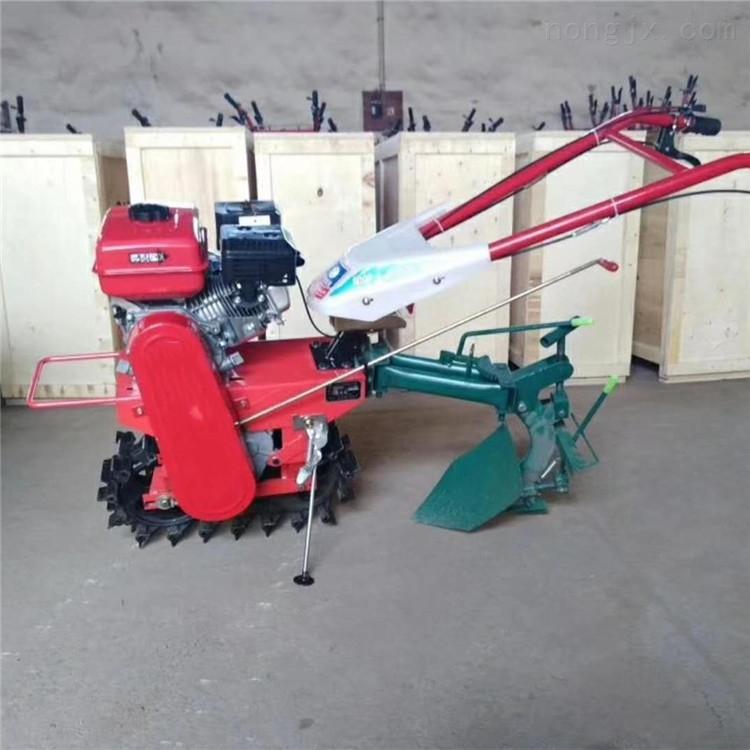 供应手扶式履带微耕机 小型开沟机