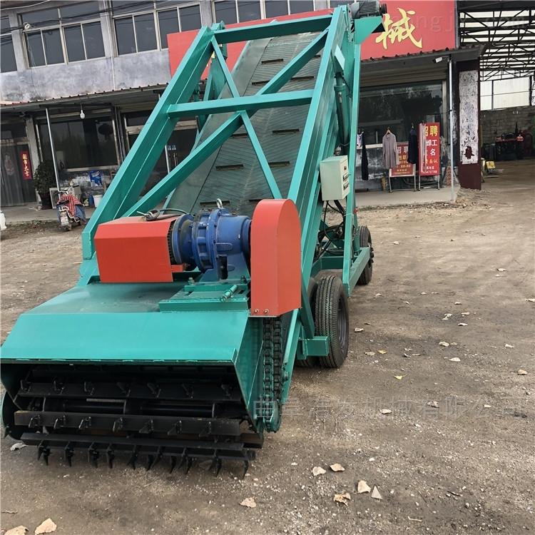5米高青贮池取料机 移动式畜牧机械扒草机