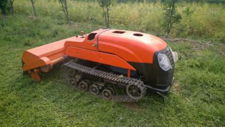 果園遙控割草機