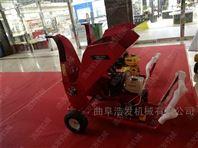 移动式13马力汽油粉碎机 绿化园林碎枝机