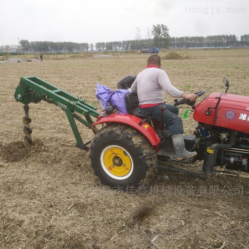 大马力植树挖坑机 两冲程手提打洞机