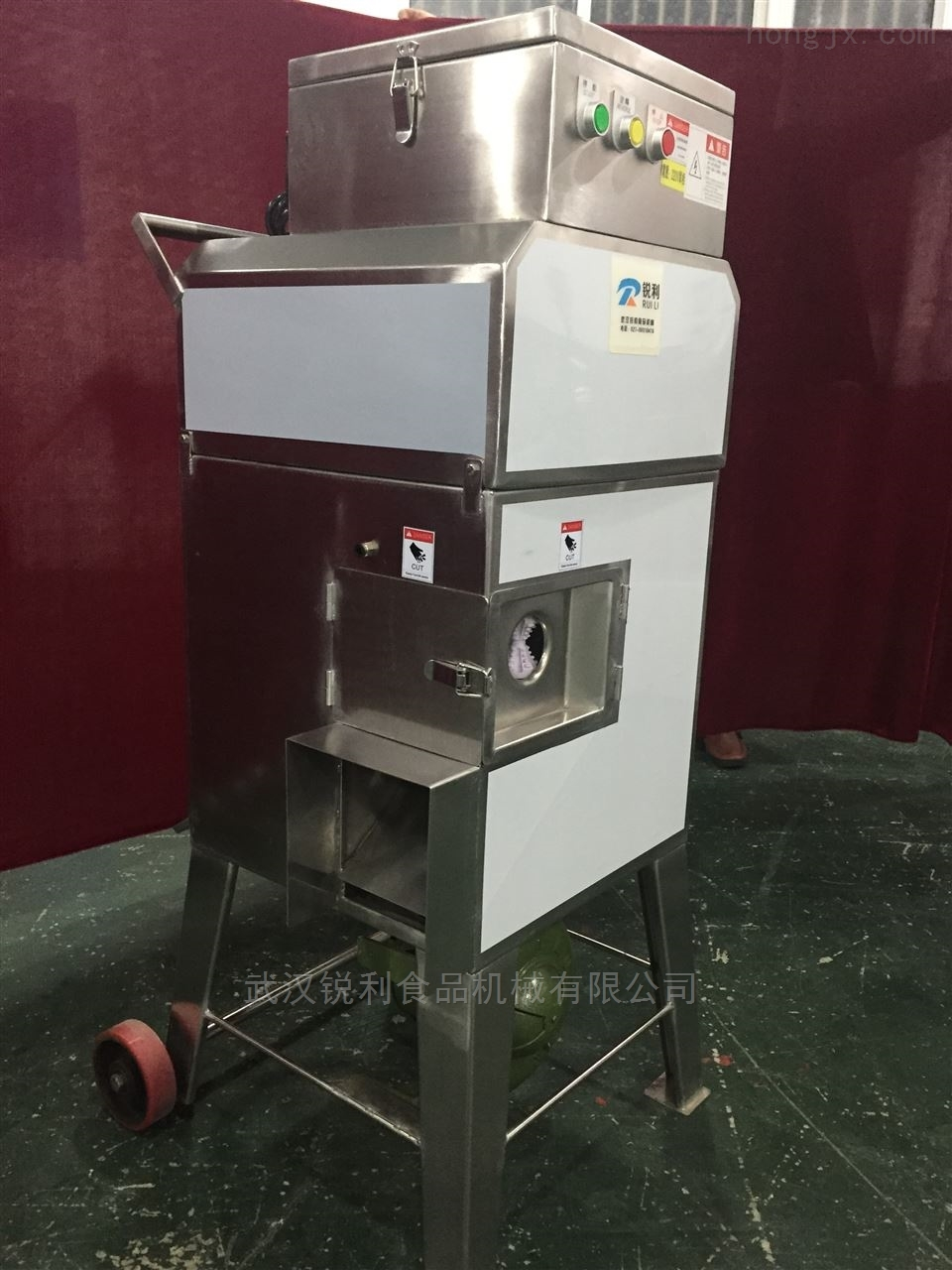 臺灣368型鮮玉米脫粒機